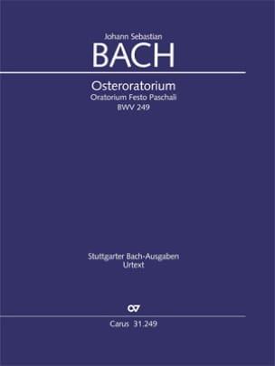 Johann Sebastian Bach - Oster-Oratorium Bwv 249. Orgue - Partition - di-arezzo.fr