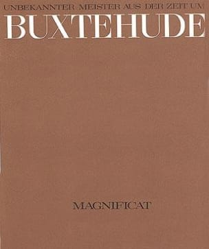 Dietrich (Attribué A) Buxtehude - Magnificat Buxwv Anh 1 - Sheet Music - di-arezzo.co.uk