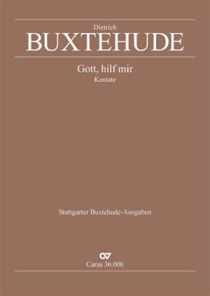 Gott, Hilf Mir Buxwv 34 - Dietrich Buxtehude - laflutedepan.com