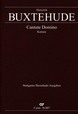 Dietrich Buxtehude - Cantate Domino Buxwv 12 - Partition - di-arezzo.fr