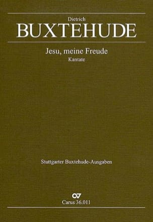 Jesu, Meine Freude Buxwv 60. - Dietrich Buxtehude - laflutedepan.com