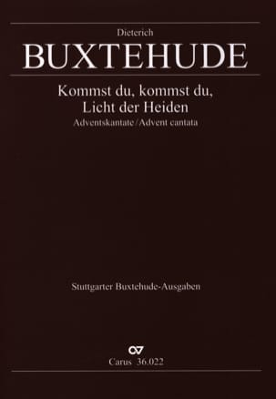 Dietrich Buxtehude - Kommst Du, The Licht Der Heiden Buxwv 66 - Sheet Music - di-arezzo.co.uk