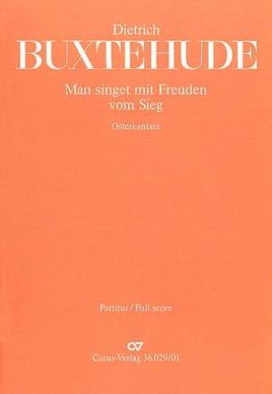 Dietrich Buxtehude - Man Singet Mit Freuden Vom Sieg Buxwv Anhang 2 - Partition - di-arezzo.fr