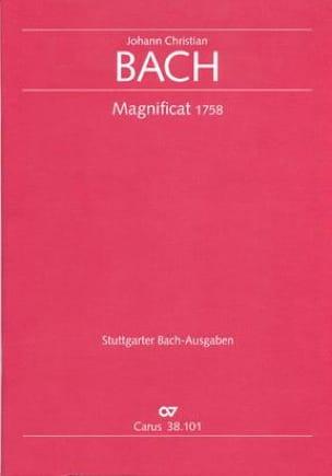 Johann Christian Bach - Magnificat in C - Partition - di-arezzo.fr