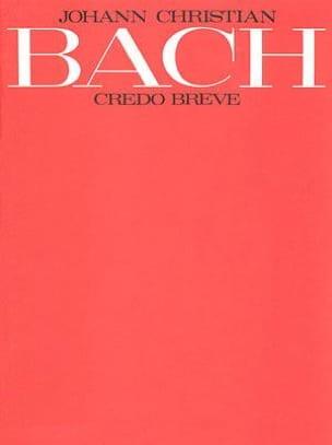 Johann Christian Bach - Credo Breve - Partition - di-arezzo.fr