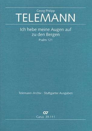 TELEMANN - Ich Hebe Meine Augen Auf Den Bergen TVWV 7:15 - Partition - di-arezzo.fr