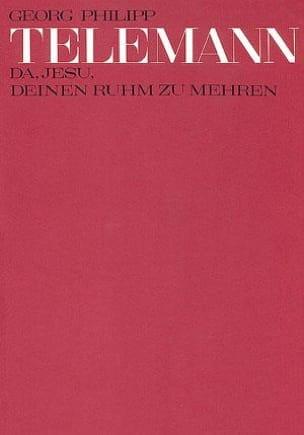 Da, Jesu, Deinen Ruhm Zu Mehren. Conducteur - laflutedepan.com