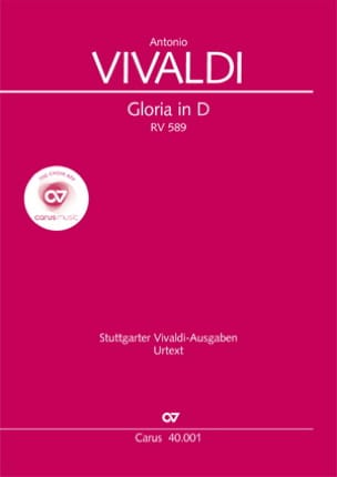 VIVALDI - Gloria Rv 589 - Sheet Music - di-arezzo.co.uk