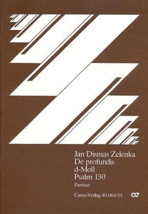 Jan Dismas Zelenka - De Profundis, Psaume 130. Ré Mineur - Partition - di-arezzo.fr