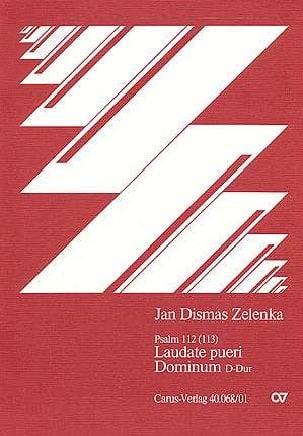 Jan Dismas Zelenka - Laudate Pueri Dominum In D. Conducteur - Partition - di-arezzo.fr