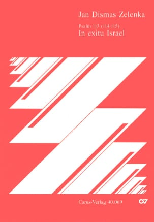Jan Dismas Zelenka - In Exitu Israel. Zwv 84 - Noten - di-arezzo.de