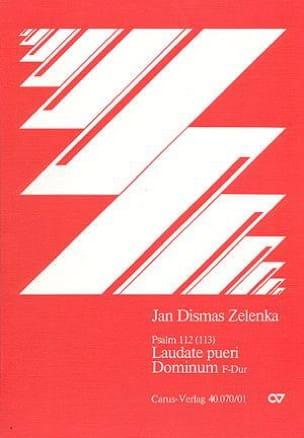 Laudate pueri in F - ZELENKA - Partition - Chœur - laflutedepan.com