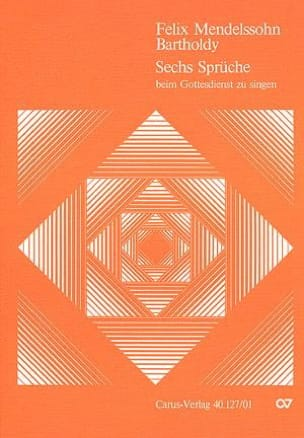 6 Sprüche Für Doppelchor Opus 79 - laflutedepan.com