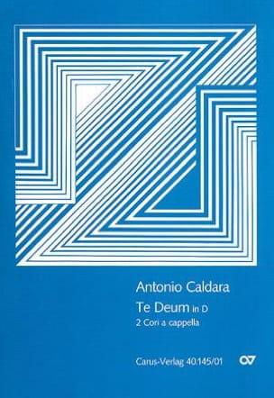 Te Deum a 8 voci in D 1711 Antonio Caldara Partition laflutedepan