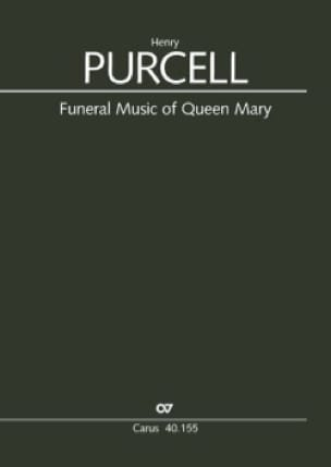 Henry Purcell - Funeral music of Queen Mary - Sheet Music - di-arezzo.co.uk