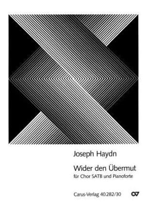 Joseph Haydn - Wider den Übermut - Partition - di-arezzo.fr