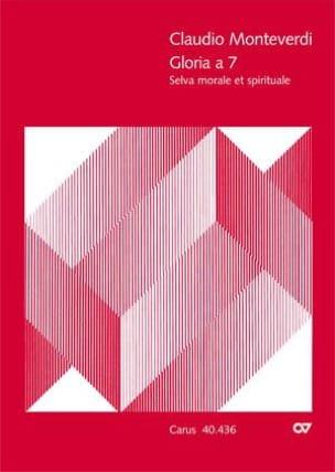 Claudio Monteverdi - Gloria a 7 - Partition - di-arezzo.fr