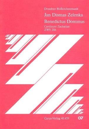 Jan Dismas Zelenka - Benedictus Dominus Zwv 206 - Sheet Music - di-arezzo.co.uk