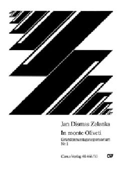Jan Dismas Zelenka - In monte Oliveti - ZWV 55-1 - Sheet Music - di-arezzo.co.uk