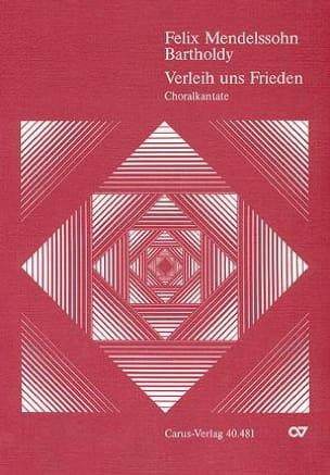 Verleih Uns Frieden Gnädiglich. Conducteur - laflutedepan.com