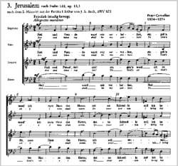 Peter Cornelius - 3 Psalmlieder Opus 13 - Partition - di-arezzo.fr