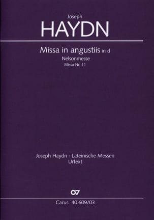 Missa In Angustiis Nelson-Messe Hob 22-11 - HAYDN - laflutedepan.com