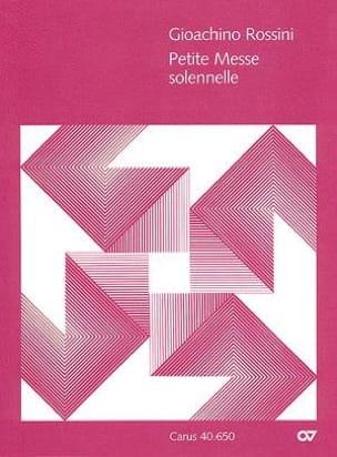 Gioachino Rossini - Small Solemn Mass - Sheet Music - di-arezzo.com