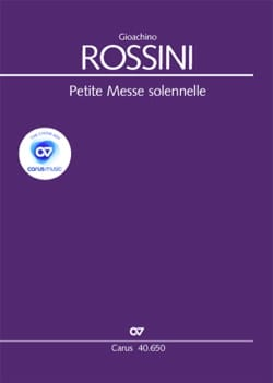 Petite Messe solennelle. Pianos - Gioachino Rossini - laflutedepan.com