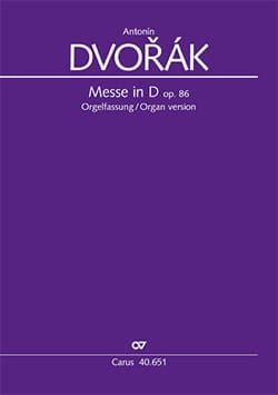 DVORAK - Mass in Re Opus 86. Choir alone - Sheet Music - di-arezzo.com