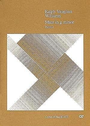 Mass in g minor - WILLIAMS VAUGHAN - Partition - laflutedepan.com