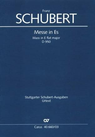 SCHUBERT - Mass in E flat Major - D 950 - Sheet Music - di-arezzo.co.uk