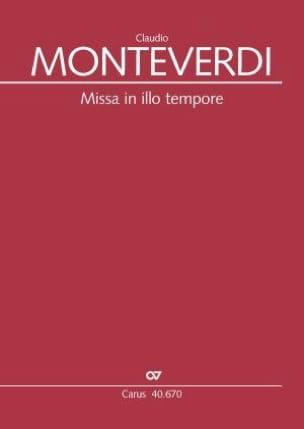 Claudio Monteverdi - Missa in illo tempore - Partition - di-arezzo.fr