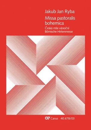 Missa pastoralis Bohemica - Jan J Ryba - Partition - laflutedepan.com