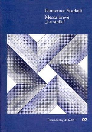 Domenico Scarlatti - Messa breve La stella - Partition - di-arezzo.fr