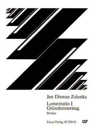 Lamentatio 1 Gründonnerstag - Jan D Zelenka - laflutedepan.com