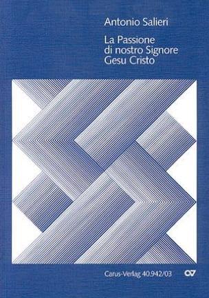 Antonio Salieri - La Passione di Gesu Cristo - Partition - di-arezzo.fr
