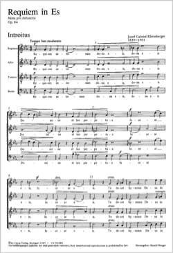 Requiem En Mi Bémol Op. 84 - laflutedepan.com