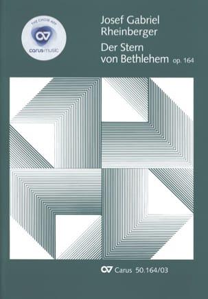 Joseph Rheinberger - Der Stern von Bethlehem Opus 164 - Sheet Music - di-arezzo.co.uk