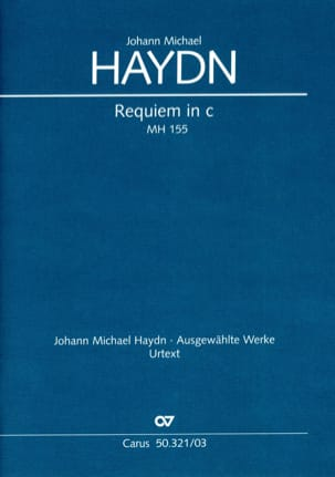 Michael Haydn - Requiem In C Minor Mh 155 - Sheet Music - di-arezzo.co.uk