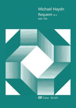 Michael Haydn - Requiem Choeur - Partition - di-arezzo.fr