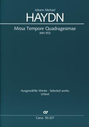 Missa Tempore Quadragesimae MH 553 Michael HAYDN laflutedepan