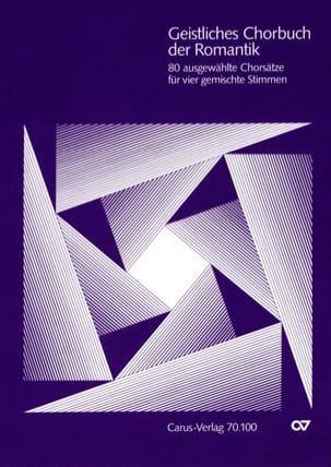 - Geistliches Chorbuch der Romantik - Partition - di-arezzo.fr