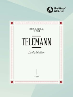 3 Motetten - 3 motets - TELEMANN - Partition - laflutedepan.com