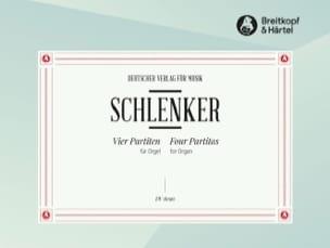 Manfred Schlenker - 4 Orgel-Partiten - Partition - di-arezzo.fr