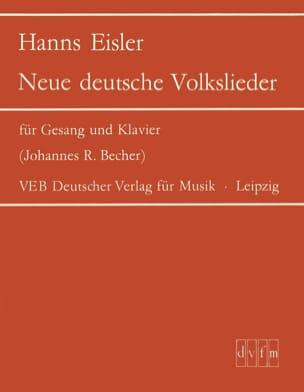 Neue deutsche Volkslieder Hanns Eisler Partition laflutedepan
