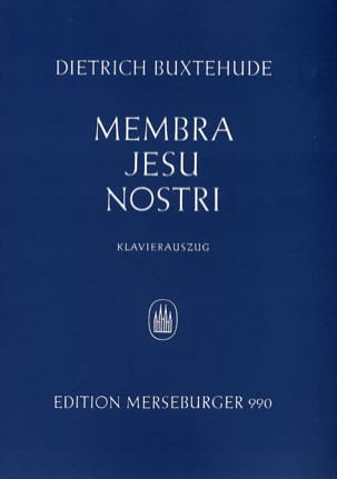 Dietrich Buxtehude - Membra Jesu Nostri - Partition - di-arezzo.co.uk
