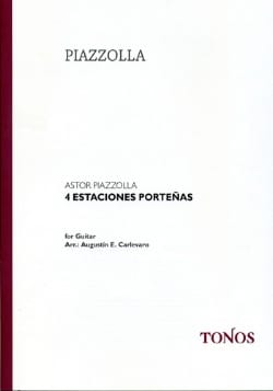 Astor Piazzolla - 4 Estaciones Porteñas - Sheet Music - di-arezzo.co.uk