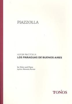 Astor Piazzolla - Los paraguas of Buenos Aires - Sheet Music - di-arezzo.com