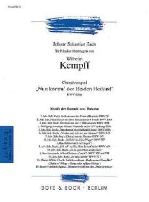 Nun Komm, Der Heiden Heiland BWV 659a laflutedepan