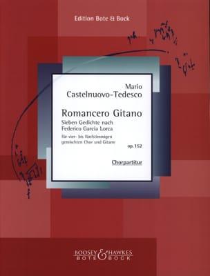 Mario Castelnuovo-Tedesco - Romancero Gitano Opus 152 - Partition - di-arezzo.fr